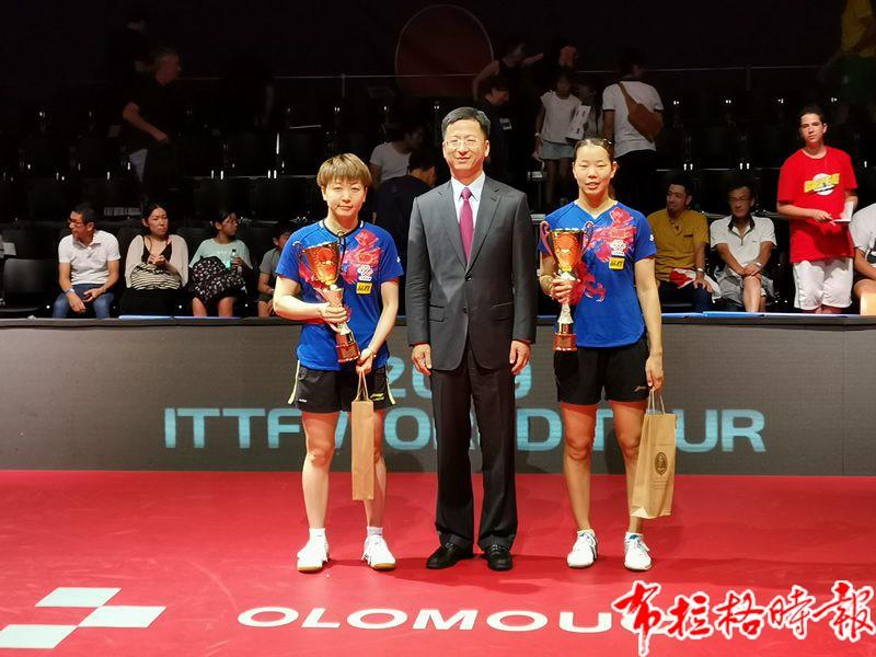 W020190825552217272092 800x600 - 【布拉格时报】中国驻捷克大使张建敏出席国际乒联捷克公开赛并为冠军颁奖