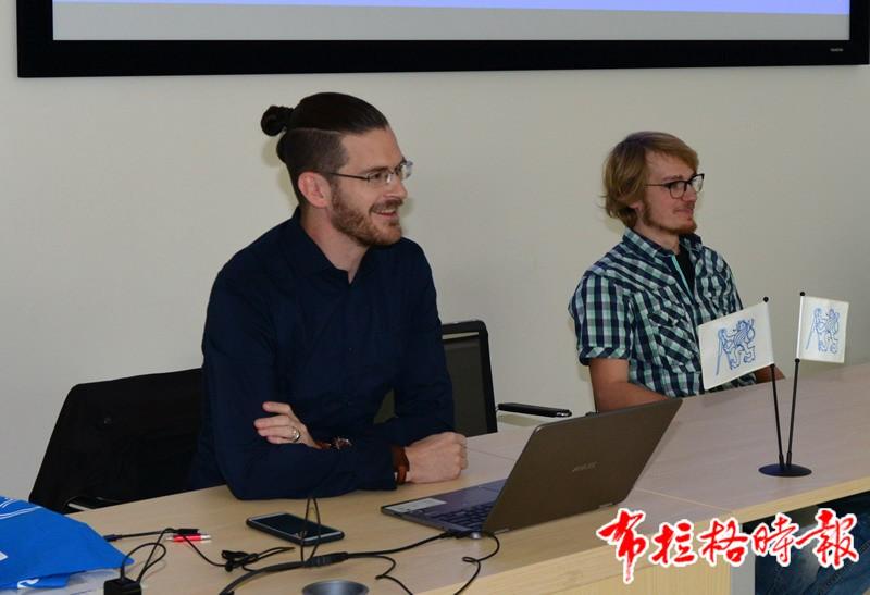 2019102900002 - 【布拉格时报】2019香港青年丝路文化交流团访问捷克科技大学