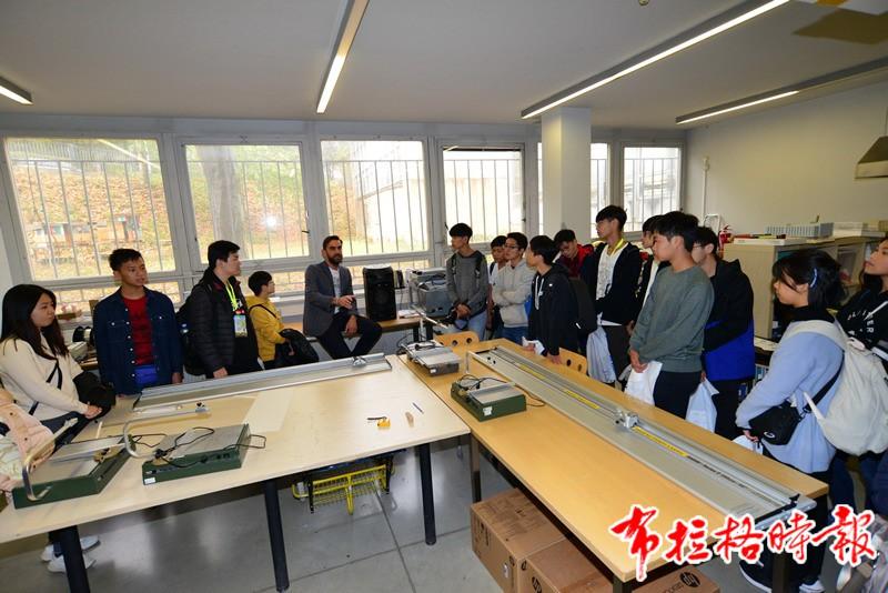2019102900013 - 【布拉格时报】2019香港青年丝路文化交流团访问捷克科技大学