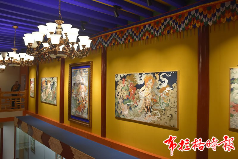 DSC 1878 - 【布拉格时报】唐卡艺术传承后继有人:访松潘象藏艺术学校