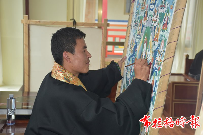DSC 1894 - 【布拉格时报】唐卡艺术传承后继有人:访松潘象藏艺术学校